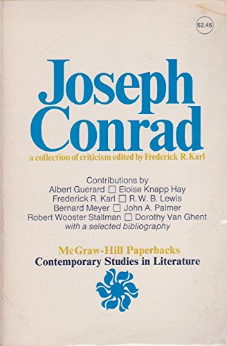 9780070333215: Joseph Conrad (Contemporary Studies in Literature)