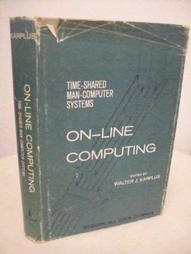 9780070333550: On-line Computing