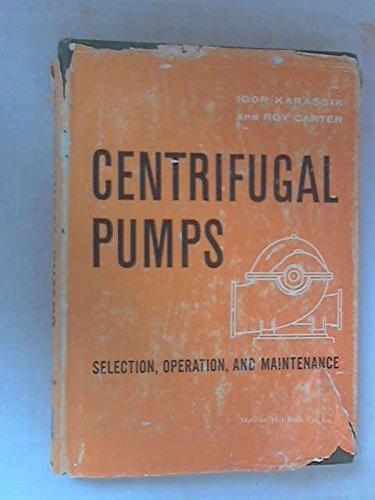 9780070333598: Centrifugal Pumps