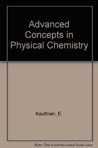 9780070333802: Advanced Concepts in Physical Chemistry