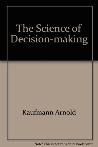 9780070333970: The Science of Decision-making
