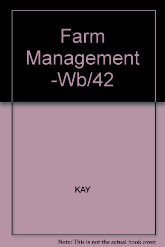 9780070334946: Farm Management: Planning, Control, and Implementation (Agricultural Sciences Publications)