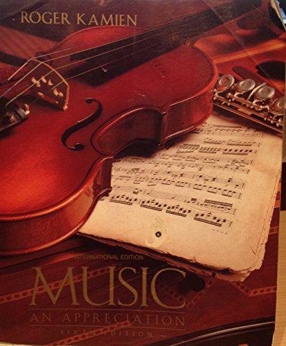 9780070335462: Music: An Appreciation