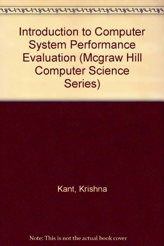9780070335868: Introduction to Computer System Performance Evaluation (Mcgraw Hill Computer Science Series)
