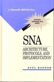9780070337275: Sna: Architecture, Protocols, and Implementation (J Ranade Ibm Series)