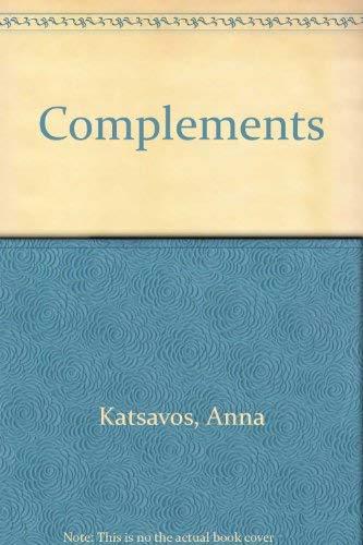 Complements: Anna Katsavos, Elizabeth
