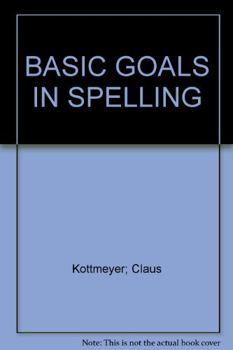9780070339163: BASIC GOALS IN SPELLING