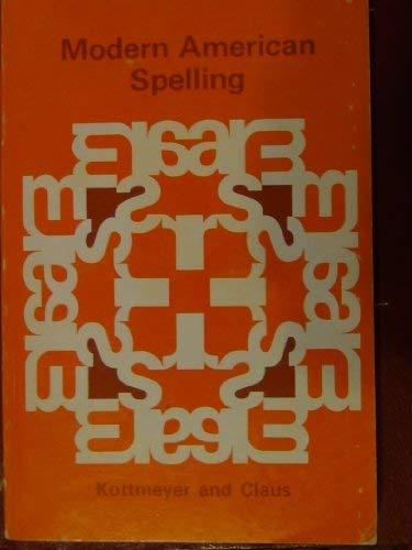 9780070339415: Modern American Spelling