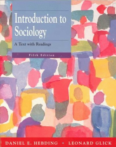 9780070340275: Introduction To Sociology: A Text With Readings