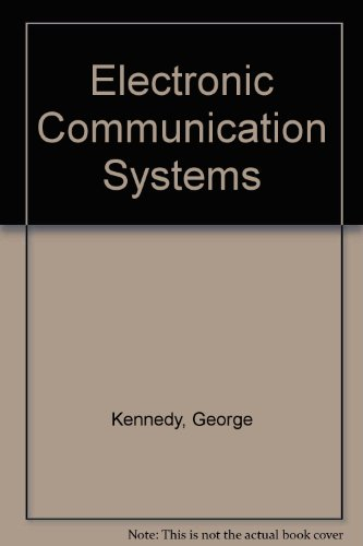 9780070340503: Electronic Communication Systems