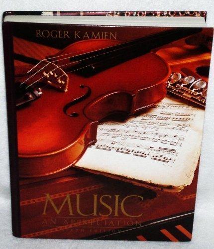 9780070340701: Music: An Appreciation