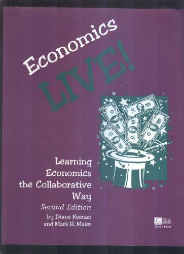 9780070341593: Economics live!: Learning economics the collaborative way