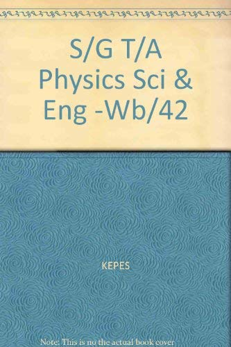 9780070341777: Workbook to Accompany Bueche: Introduction to Physics for Scientists and Engineers