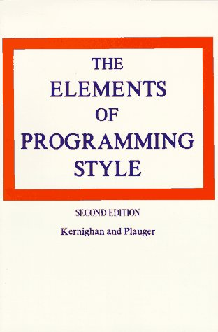 9780070342071: Elements of Programming Style