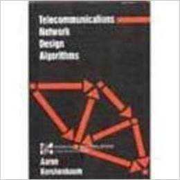 9780070342286: Telecommunications Network Design Algorithms (Mcgraw Hill Computer Science Series)