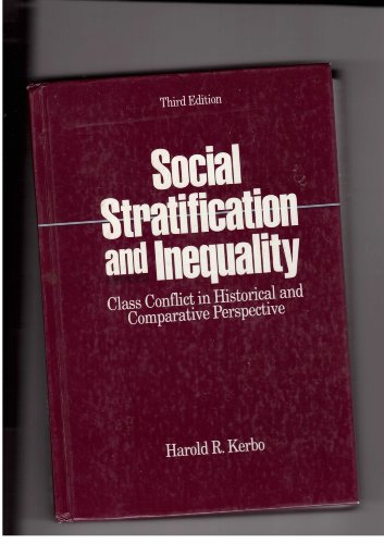 9780070342583: Social Stratification and Inequality