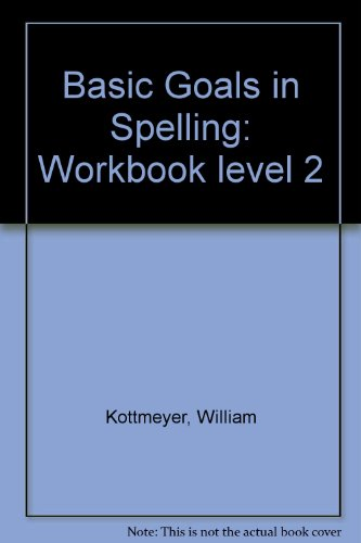 9780070343320: Basic Goals in Spelling: Workbook level 2