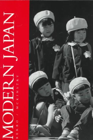 9780070344266: Modern Japan: A Volume in the Comparative Societies Series