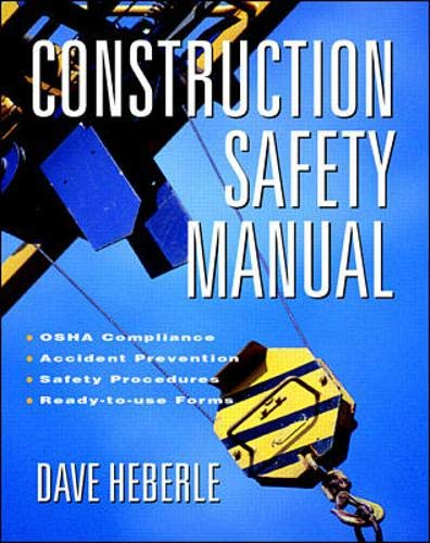 9780070344549: Construction Safety Manual