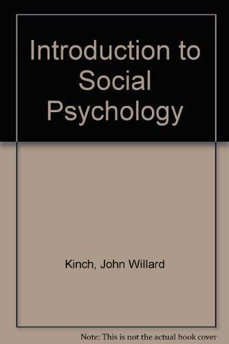 9780070345706: Social Psychology