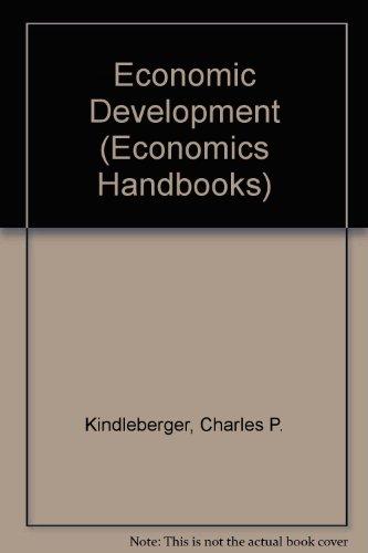 9780070345836: Economic Development (Economics handbook series)