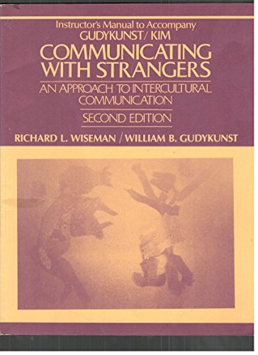 9780070346031: Communicating with Strangers: An Approach to Intercultural Communication: Instructor's Manual