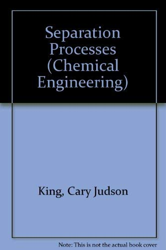 9780070346109: Separation Processes (Chemical Engineering)