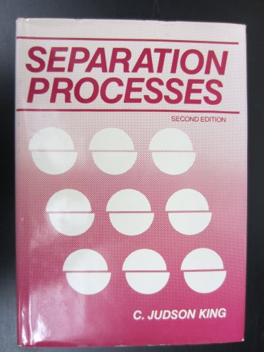 9780070346123: Separation Processes (McGraw-Hill chemical engineering series)