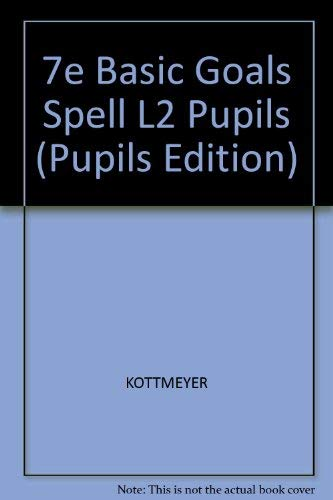9780070346321: Basic Goals in Spelling, Level 2 (Pupils Edition)