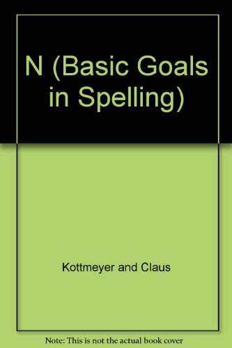 9780070346376: N (Basic Goals in Spelling)