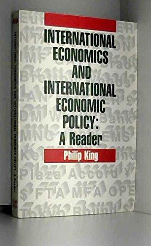 9780070346413: International Economics and International Economic Policy: A Reader