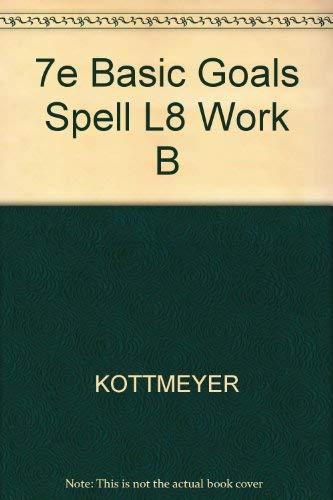 9780070346581: Basic Goals in Spelling