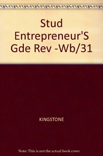 9780070347076: The Student Entrepreneur's Guide: How to Start and Run Your Own Business