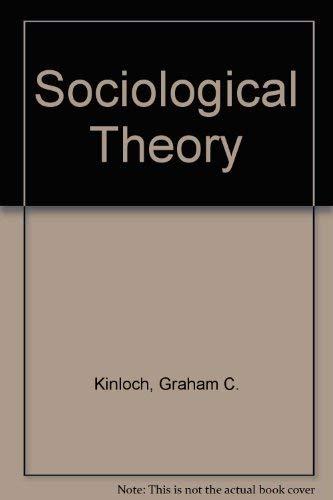 9780070347380: Sociological Theory