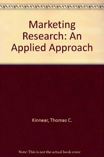 9780070347458: Marketing Research: An Applied Approach