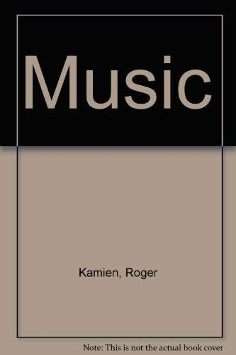 9780070348219: Music: an Appreciation (2nd Brief Edition): Student Guide/Work Book