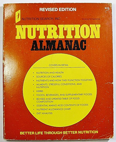 9780070348486: Nutrition Almanac: Better Life Through Better Nutrition