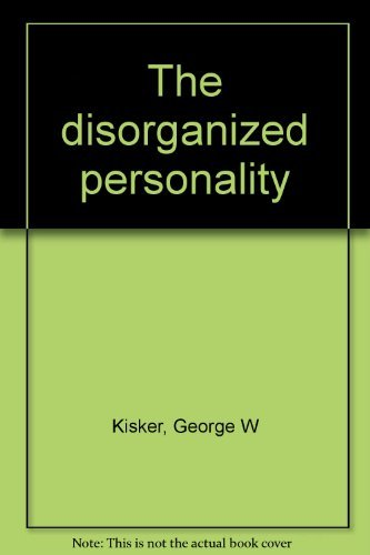 9780070348769: The disorganized personality