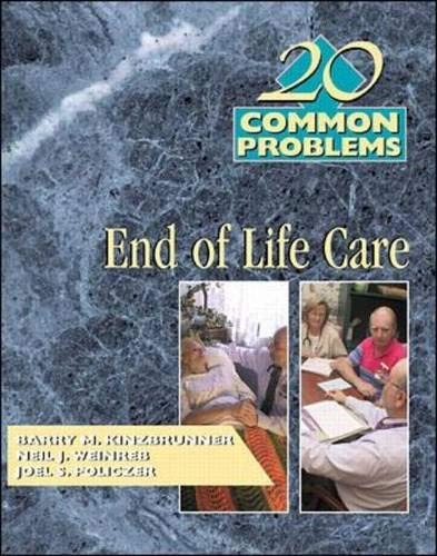 9780070348837: 20 Common Problems: End-of-Life Care