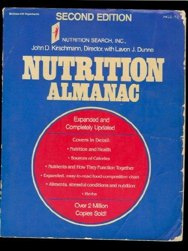 9780070349056: Nutrition Almanac