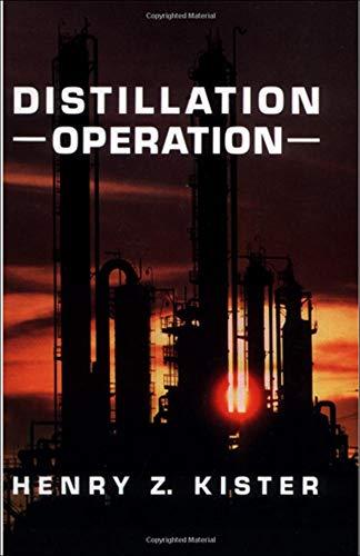 9780070349100: Distillation Operation (Mechanical Engineering)