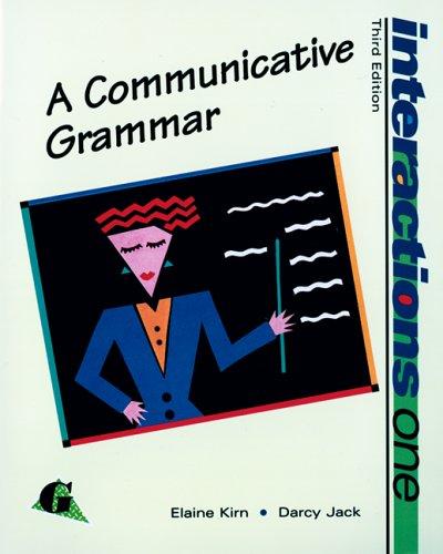 9780070349162: Interactions I: A Communicative Grammar