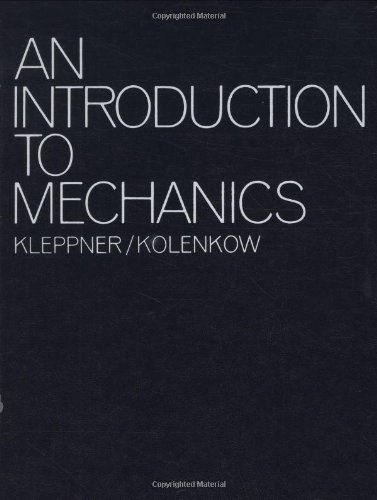An Introduction To Mechanics: Daniel Kleppner
