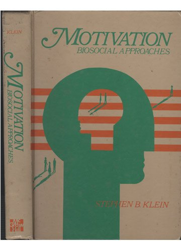 9780070350519: Motivation: Biosocial Approaches (Mcgraw Hill Series in Psychology)