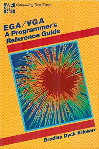 9780070350892: EGA/VGA: Programmer's Reference Guide