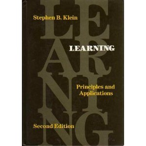 9780070350946: Learning: Principles and Applications