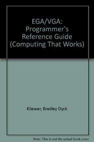 9780070350991: Ega/Vga: A Programmer's Reference Guide (Computing That Works)