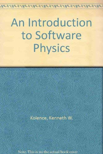 9780070352476: Introduction to Software Physics (McGraw-Hill series in software engineering and technology)