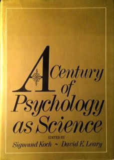 9780070352490: Century of Psychology as a Science