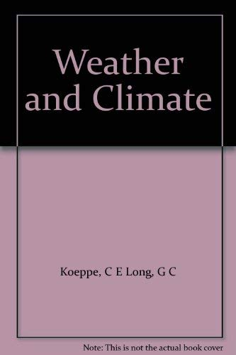 9780070352780: Weather and Climate
